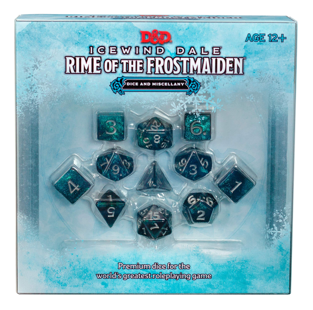 Dungeons & Dragons Icewind Dale: Rime of the Frostmaiden - Dice Set