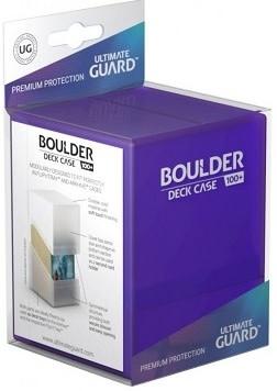 Boulder Deck Case: Standard 100+ Amethyst