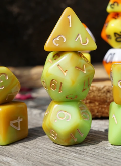 Ice Cream Dice: Caramel Apple (Set of 11)