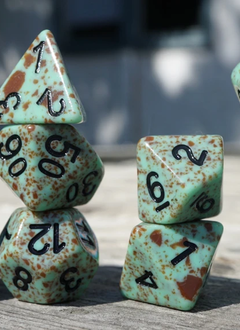 Ice Cream Dice: Mint Chocolate Dark (Set of 11)