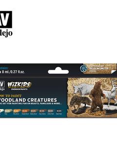 Wizkids Premium Paints: Woodland Creatures (Set of 8)