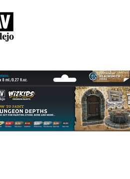 Wizkids Premium Paints: Dungeon Depths (Set of 8)