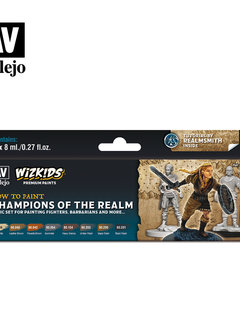 Wizkids Premium Paints: Champions of the Realm (Set of 8)