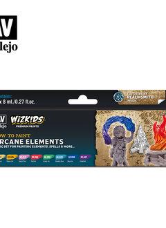 Wizkids Premium Paints: Arcane Elements (Set of 8)
