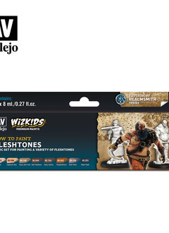 Wizkids Premium Paints: Fleshtones (Set of 8)