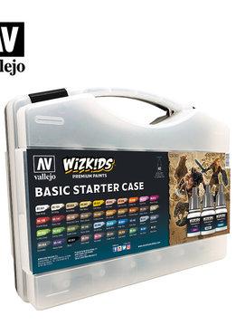 Wizkids Premium Paints: Basic Starter Case (Set of 40)