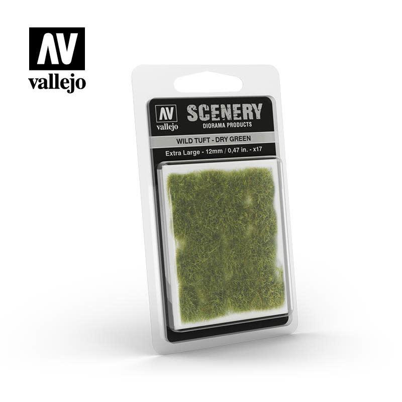 Scenery: Wild Tuft - Dry Green (Extra Large)