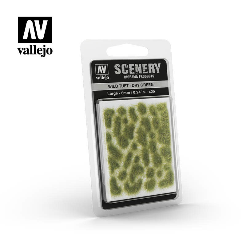 Scenery: Wild Tuft - Dry Green (Large)