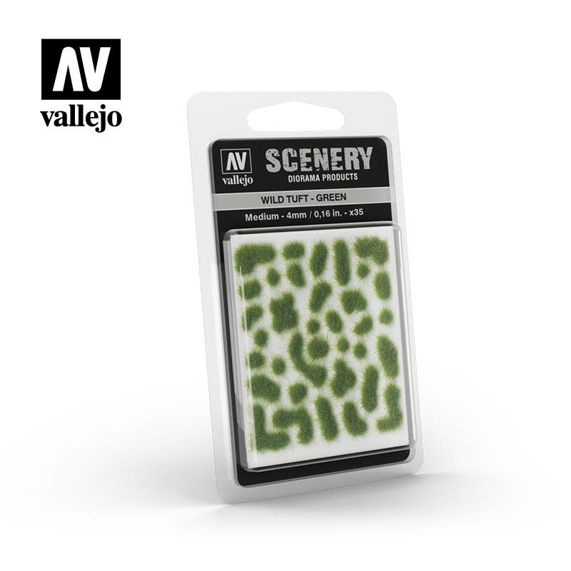 Scenery: Wild Tuft - Green (Medium)