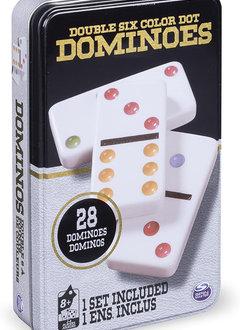 Dominos Double 6 Tin