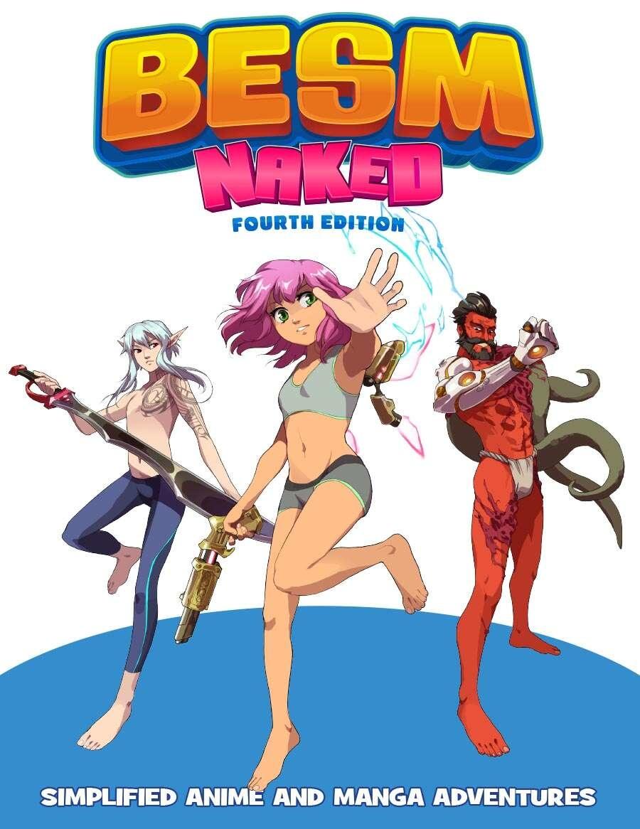 BESM 4E Naked RPG (HC)