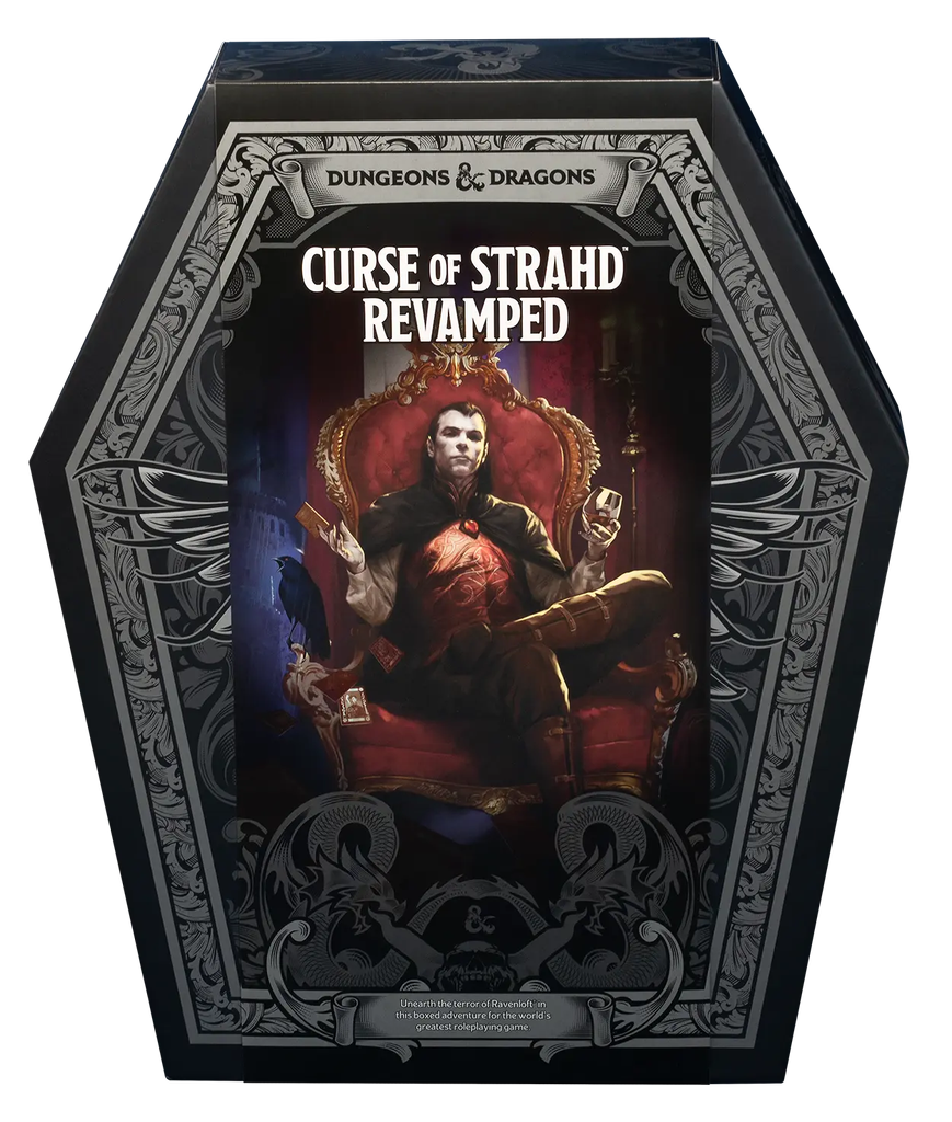 D&D 5E: Curse of Strahd Revamped
