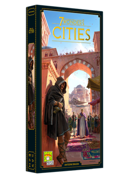 7 Wonders: Cities Exp. New Edition (EN)