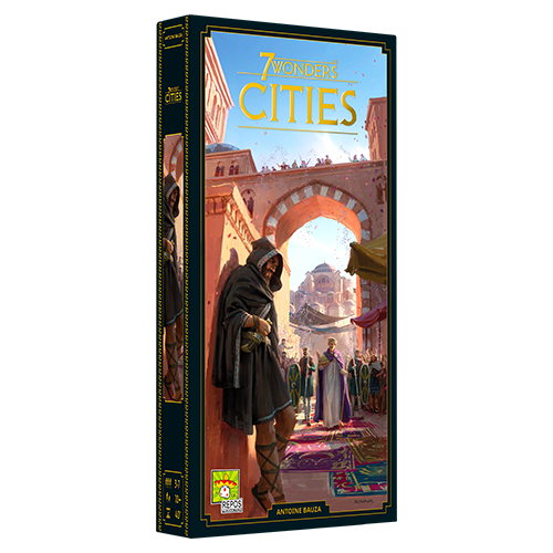 7 Wonders: Ext. Cities Nouvelle Édition (FR)