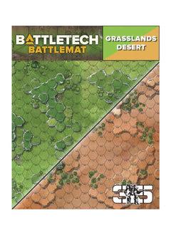 Battletech Battle Mats: Grasslands / Desert