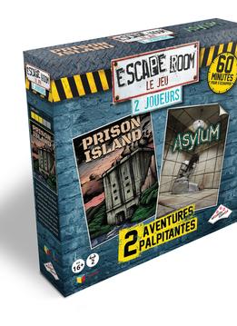 Escape Room: Le Jeu - Coffret 2 Joueurs (2 Scénarios)