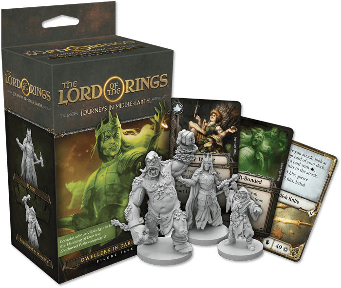 Journeys in Middle Earth: Dwellers in Darkness Figure Pack (FR)