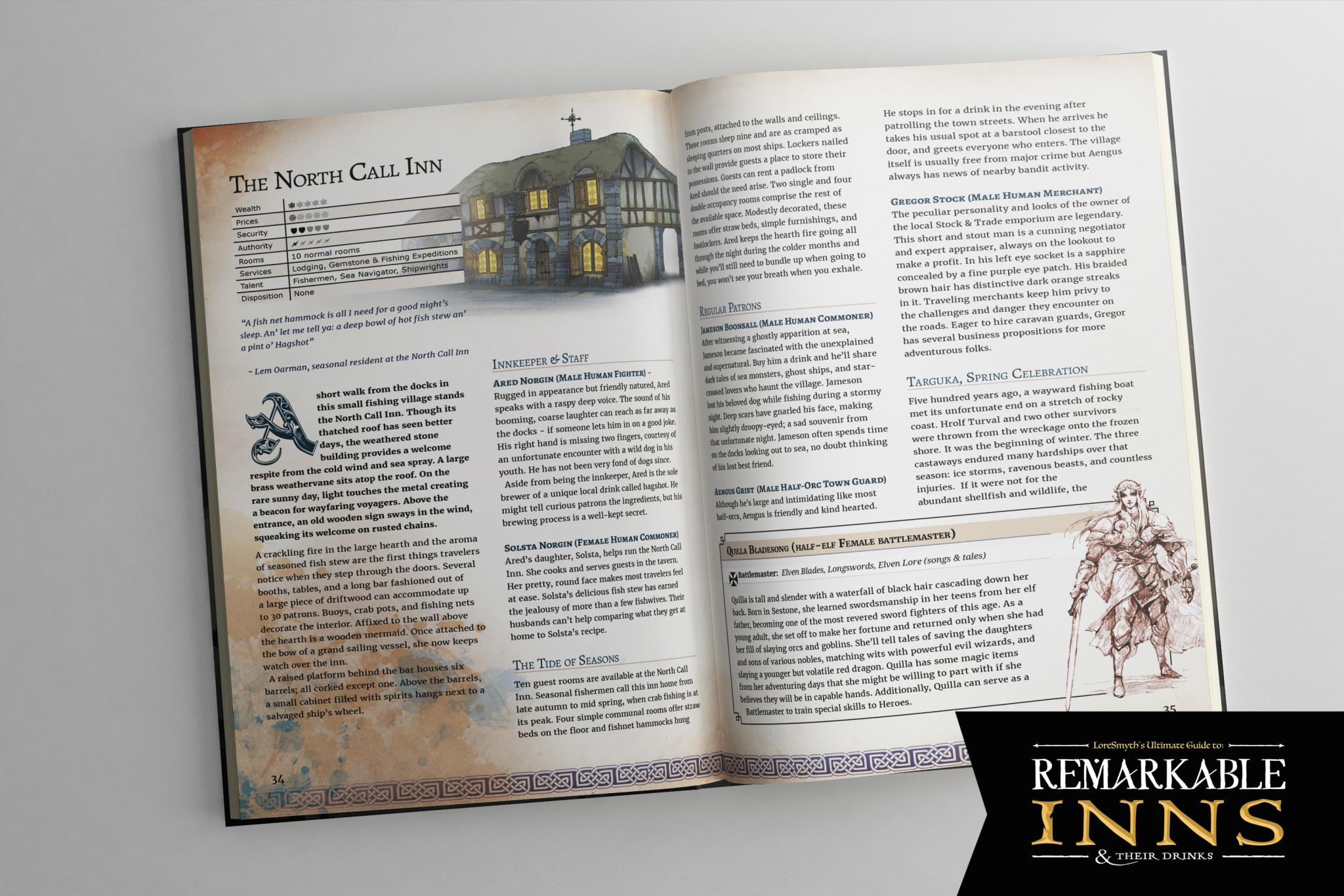 Remarkable Inns & Their Drinks (HC)
