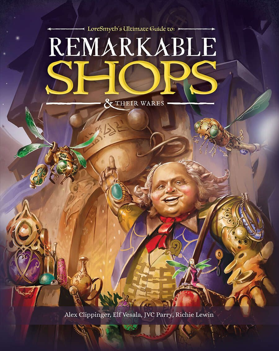 Remarkable Shops & Their Wares (HC)