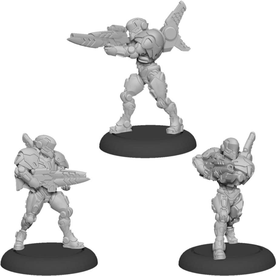 Warcaster - ISA: Paladin Enforcer Squad