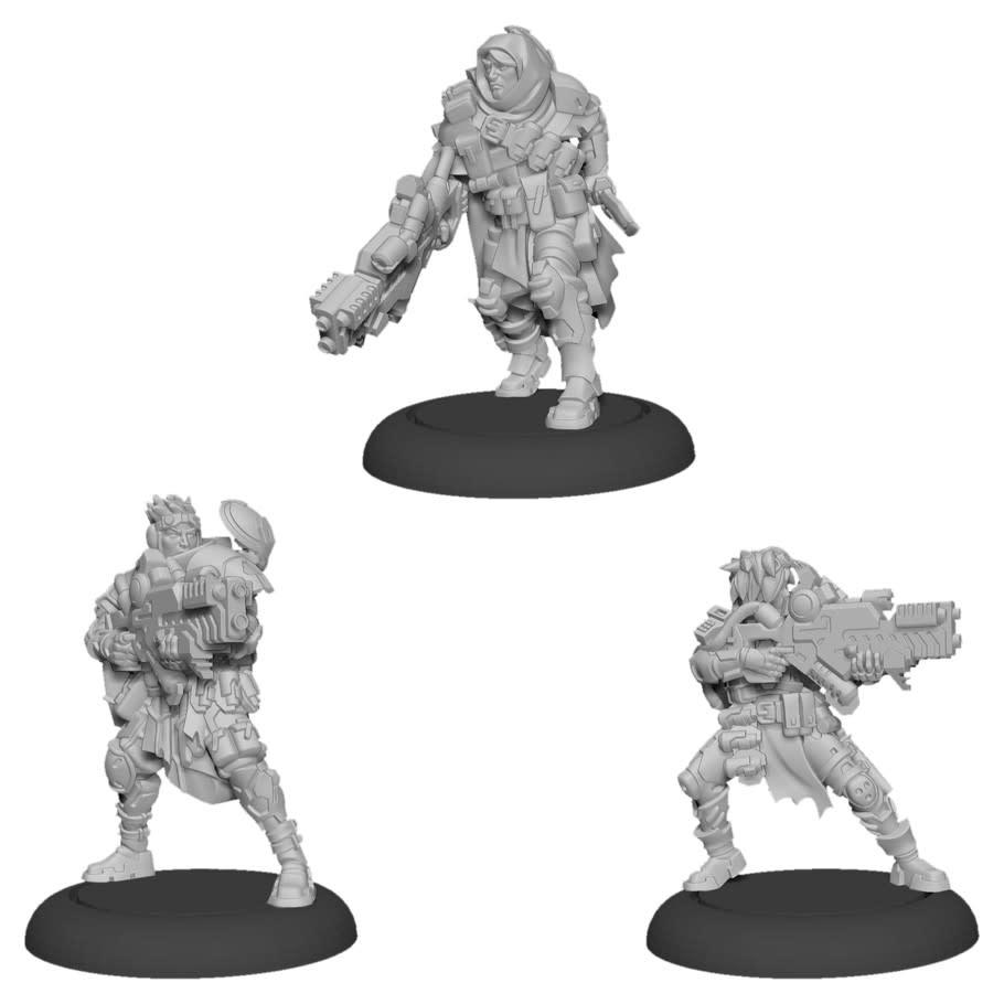 Warcaster - Marcher Worlds: Ranger Fire Team Squad