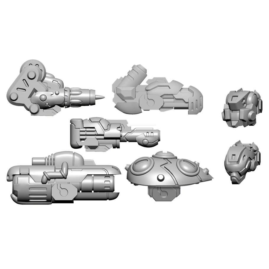 Warcaster - Aeternus Continuum: Scourge B Weapon Pack