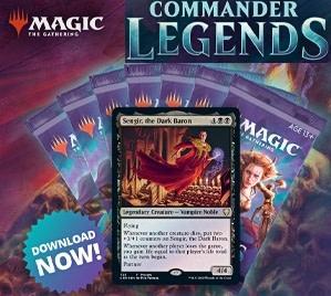 Commander Legends - Sealed maison (13-14nov)