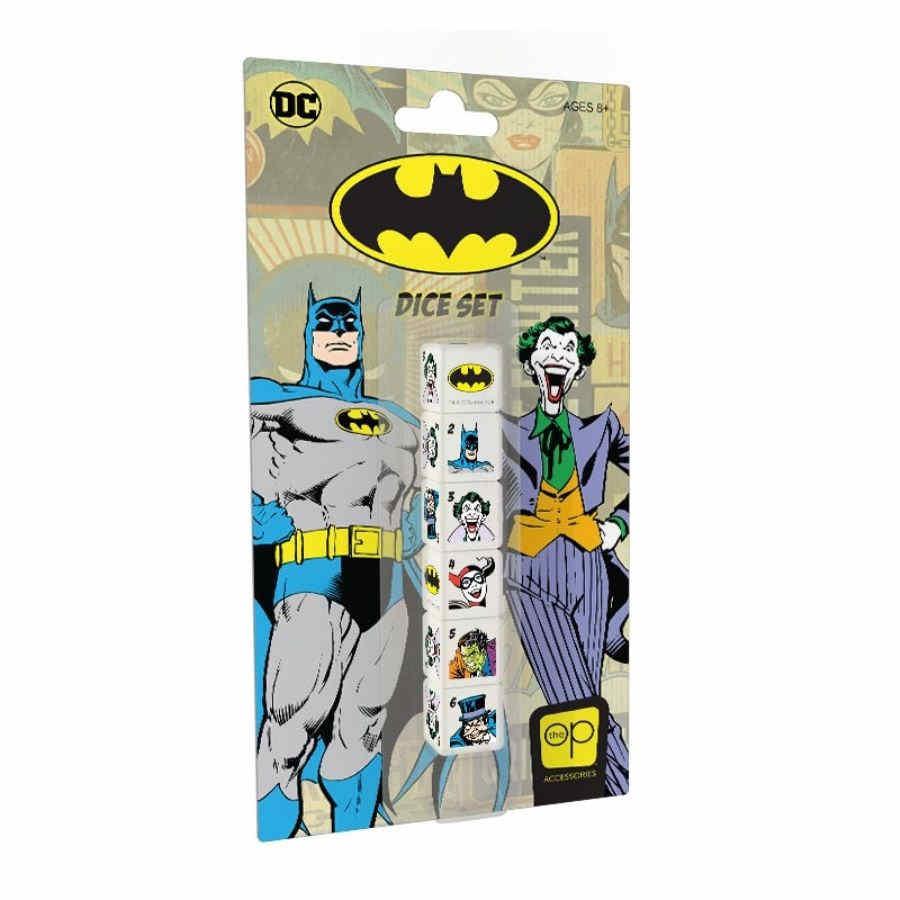 Batman D6 Dice Set (6 pcs)