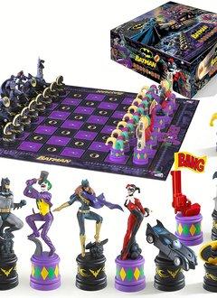 Joker vs. Batman Chess Set