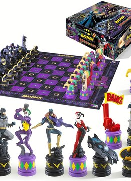Joker vs. Batman Chess Set