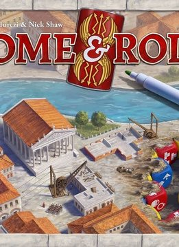 Rome & Roll Kickstarter with pen set and character expansion