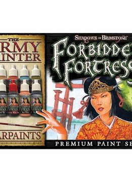 Shadow of Brimstone: Forbidden Fortress Paint Set