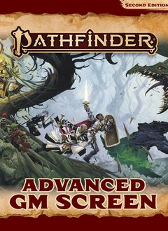 Pathfinder 2E: Advanced GM Screen (HC)