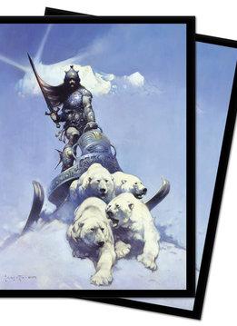 Silver Warrior - Frank Frazetta UP D-Pro Sleeves 100ct