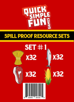 Spill Proof Ressources Set #1