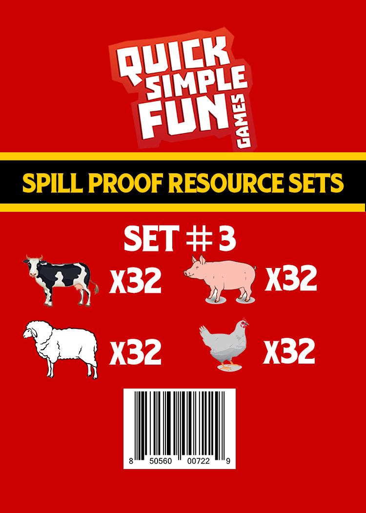 Spill Proof Ressources Set #3