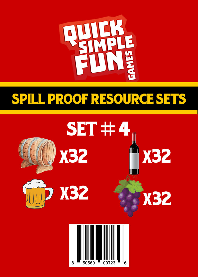 Spill Proof Ressources Set #4