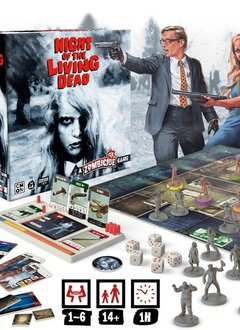 Zombicide: Night of the Living Dead Kickstarter