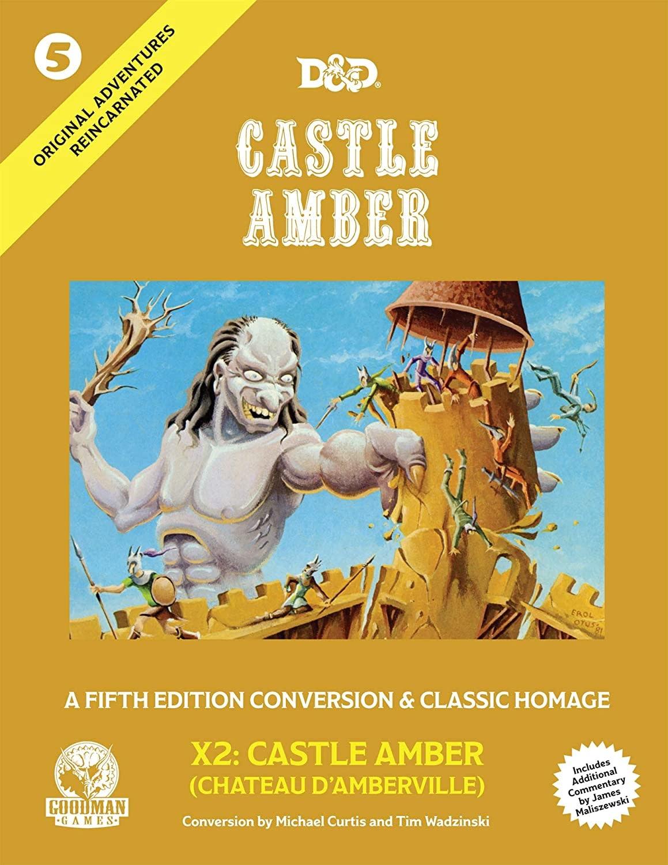 Original Adventures Reincarnated #5: Castle Amber (HC)