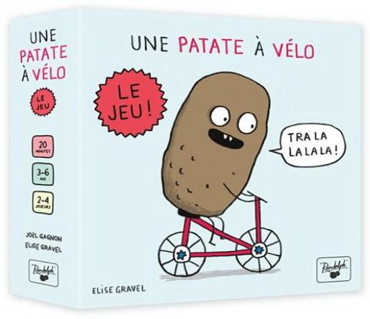 Une patate à vélo: Le jeu