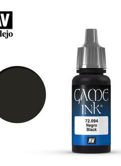 Vallejo: Black Ink 17ml