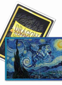 Starry Night - Dragon Shield Sleeves Ltd. Ed. Brushed Art 100ct