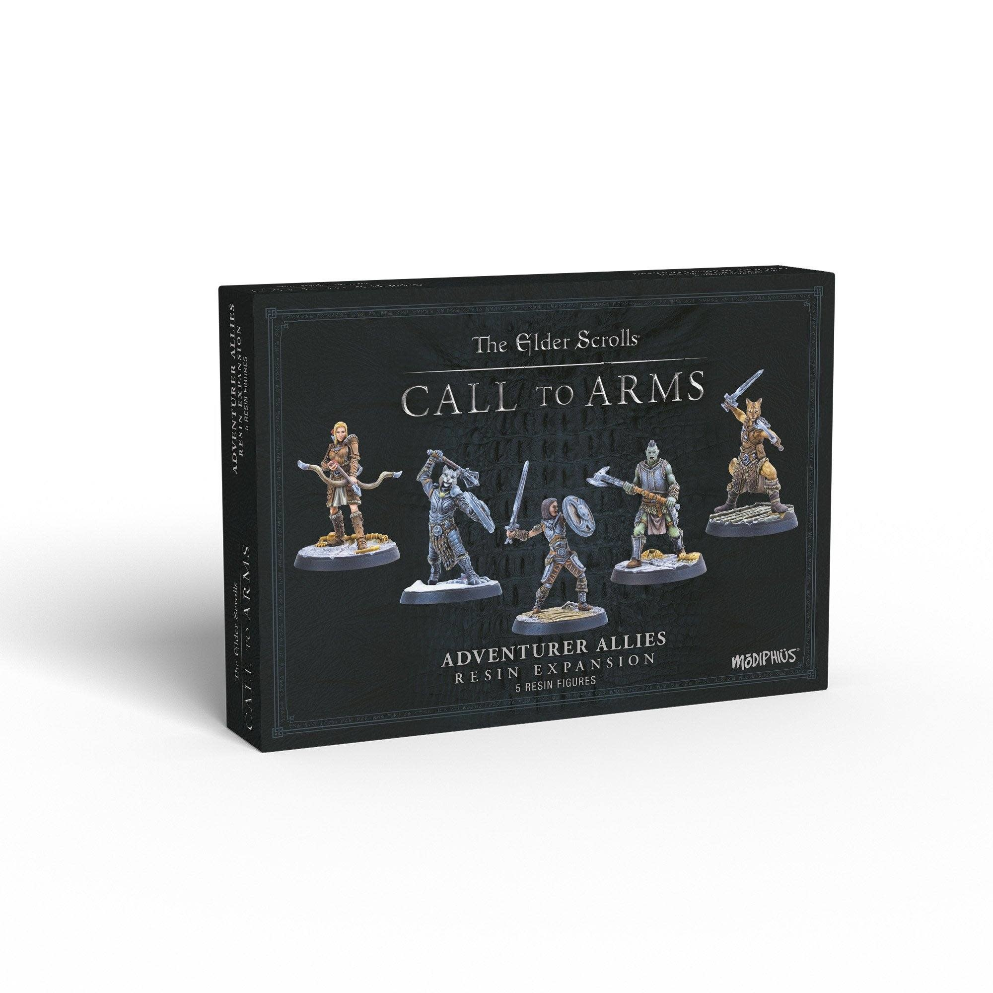 Elder Scrolls: Call to Arms - Adventurer Allies