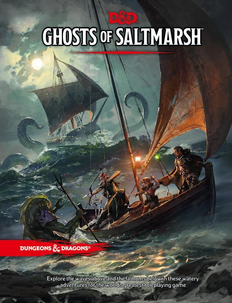 Dungeons & Dragons 5E: Ghosts of Saltmarsh