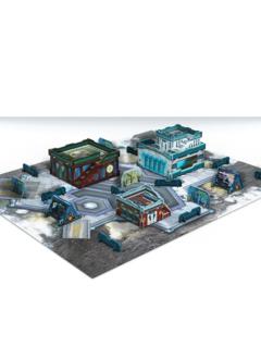 Infinity: Kaldstrom Colonial Settlement Scenery Pack