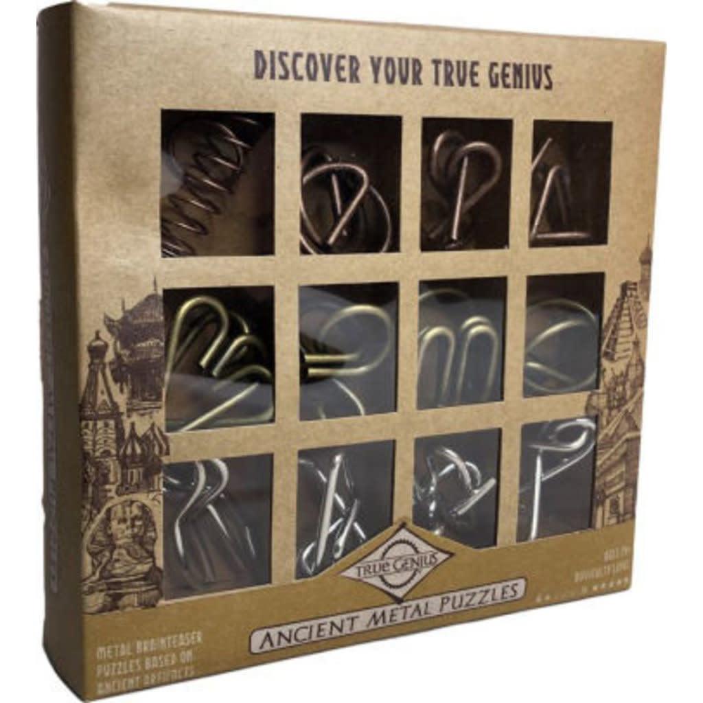 Ancient Metal Puzzle Assortment (12 pc)