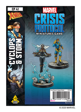 Marvel Crisis Protocol: Storm & Cyclops Character Pack