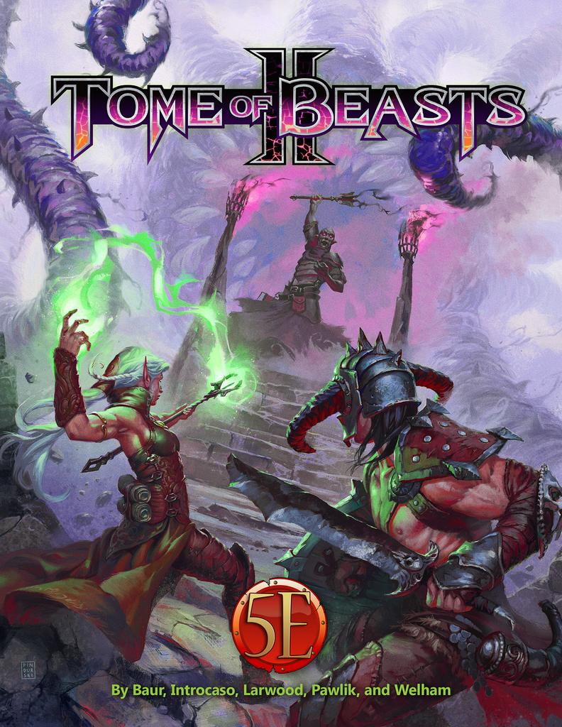 Tome of Beasts 2 for 5th Edition (HC)