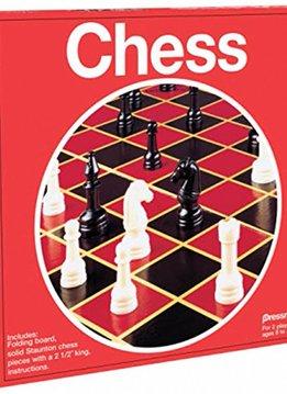 Chess w/ Folding Board (Red Box)