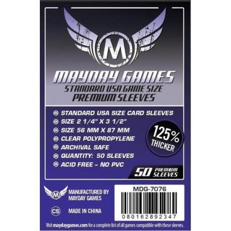 Mayday Premium USA Card Sleeves - 56mm X 87mm (50ct)